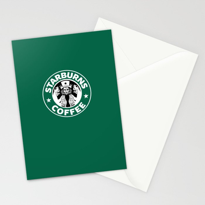 Starburns Coffee Stationery Cards
