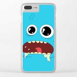 Rick & Morty Mr. Meeseeks Clear iPhone Case