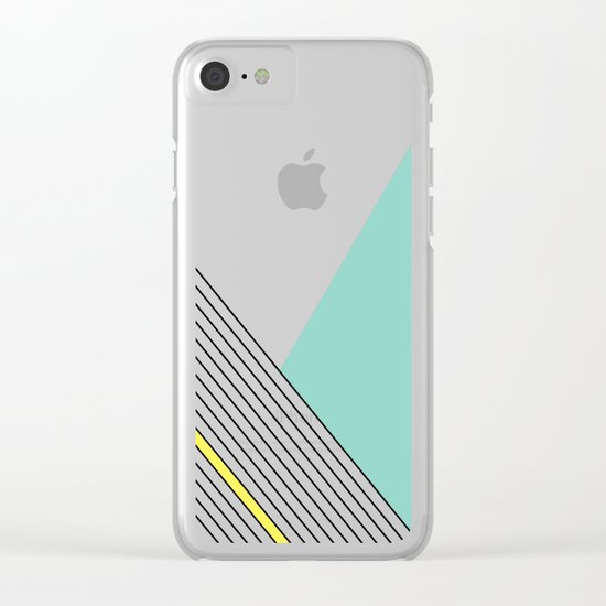 MINIMAL COMPLEXITY Clear iPhone Case