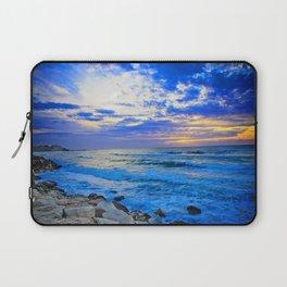 Tel Aviv Beach Sunset Laptop Sleeve