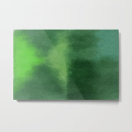 Dark Sea Green Metal Print