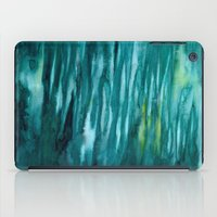 turquoise iPad Cases featuring Turquoise  by Mich Li