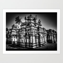 1,000 Year Old Chola Temple Art Print