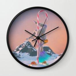 North PoleDance Wall Clock