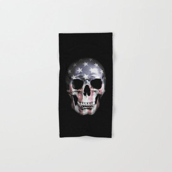 American Skull Hand & Bath Towel