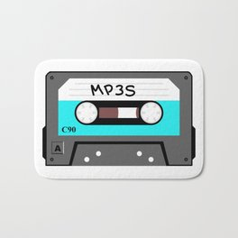 Mixtape MP3s Bath Mat