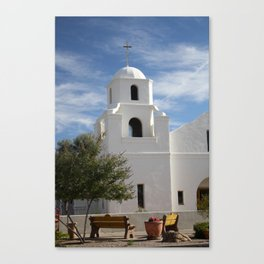 The Mission Canvas Print