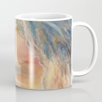 siren Mugs featuring Siren by Erica Wexler
