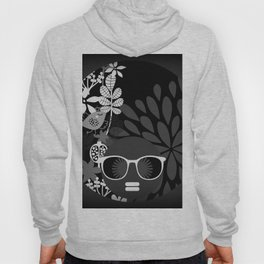 Afro Diva : Sophisticated Lady Black & White Hoody