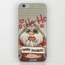 Busted Xmas iPhone Skin
