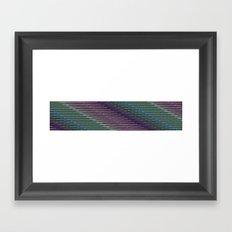 Static XXXIX Framed Art Print