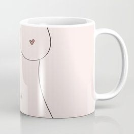 Free Love Pink Coffee Mug