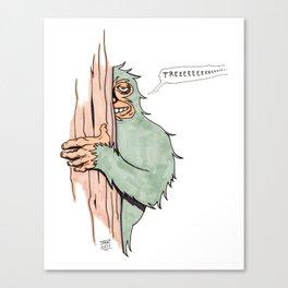 Bigfoote Canvas Print