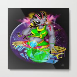 Universal Frequencies Metal Print