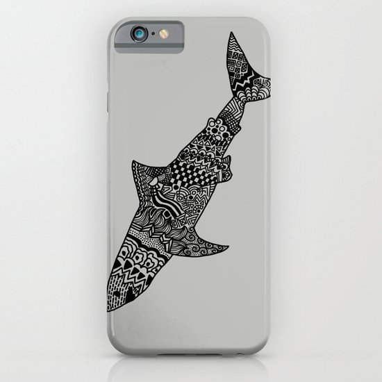 Doodle Shark iPhone & iPod Case