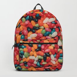 Vintage Jelly Bean Real Candy Pattern Backpack