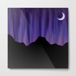 Meteorite Mountain Metal Print