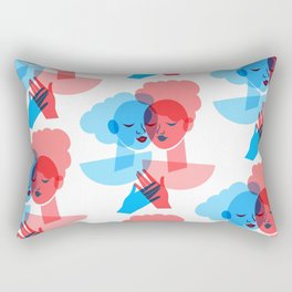 Holding Hands Rectangular Pillow