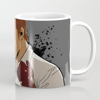 dexter Mugs featuring Dexter by Elena Casagrande