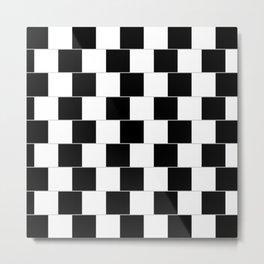 blackwhite Metal Print