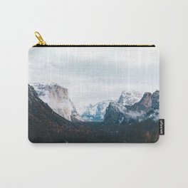 Tunnel View - Yosemite Valley, California Carry-All Pouch