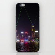 Hong Kong Laser Show iPhone & iPod Skin