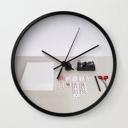 Have fun at work Wall Clock
