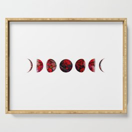 Blood Moon Cycle Serving Tray