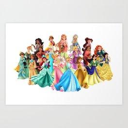 Filipiniana Princesses Art Print