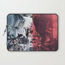 Apostrophe // abstract textured modern painting Laptop Sleeve