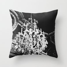 Parisian Chandelier Throw Pillow
