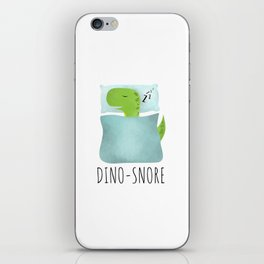 Dino-Snore iPhone Skin