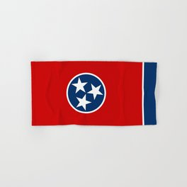 State flag of Tennessee - Authentic version Hand & Bath Towel