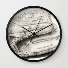 Glove Wall Clock