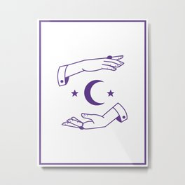 The Occultist Metal Print
