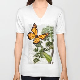 Angelica Herb Botanical Unisex V-Neck