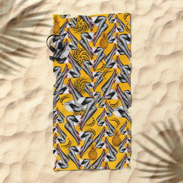 Lana Banana Beach Towel