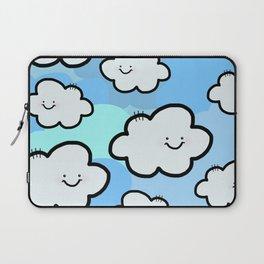 Cheery Cloud Cluster Laptop Sleeve