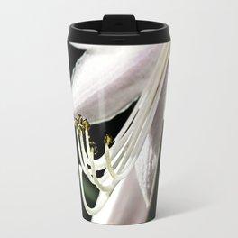 Bud with stamens. Travel Mug