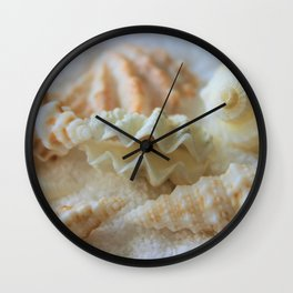 Seashells 3 Wall Clock