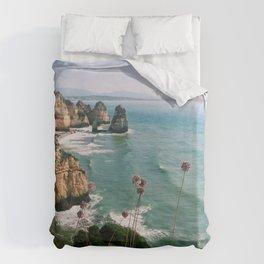 Algarve coast Duvet Cover