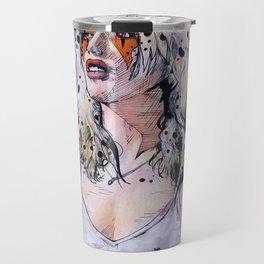 Debbie Harry Cheetara - Rip Her to Shreds Travel Mug