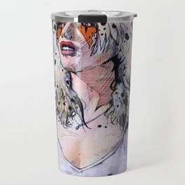 Debbie Harry Cheetara - Rip Her to Shreds Travel Mug