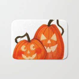 Jack O Lanterns Bath Mat
