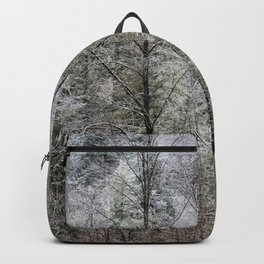Snow Dusted Trees, No. 1 Backpack