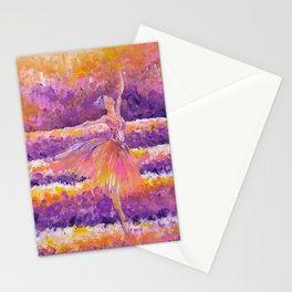 amethyst in the glow Stationery Cards