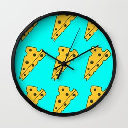 So Cheesy Wall Clock