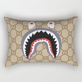 Bape Guci Rectangular Pillow