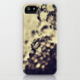'RAIN WINDOW' iPhone Case