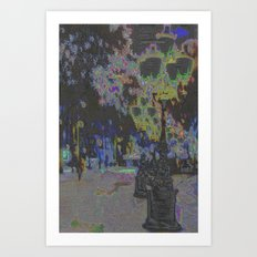 For if one sense falters, the rest can be altered. Art Print